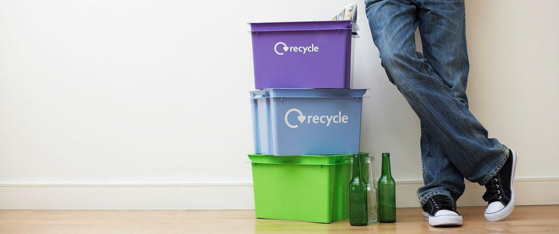 separating trash