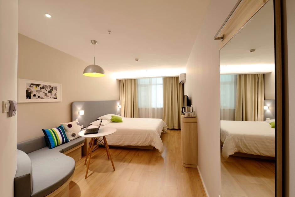make small rooms look bigger