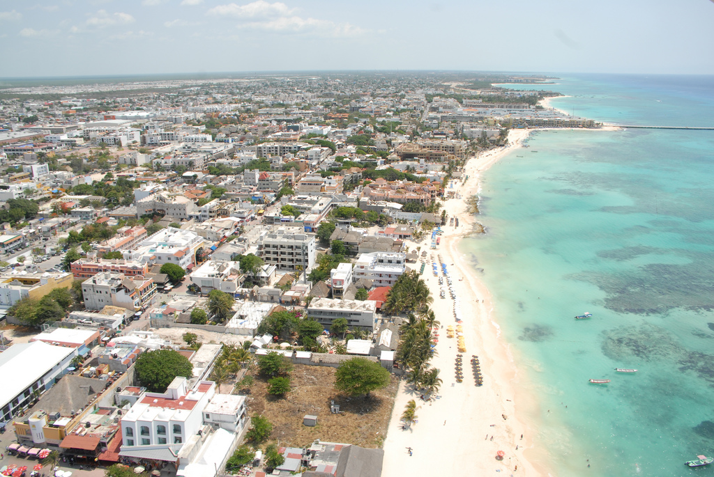 View of Playa del Carmen