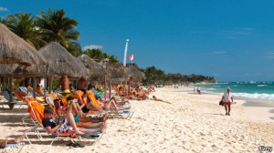 Tourism and expat lifestyle on Mexico's beaches
