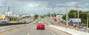 Infrastructure of Riviera Maya highway