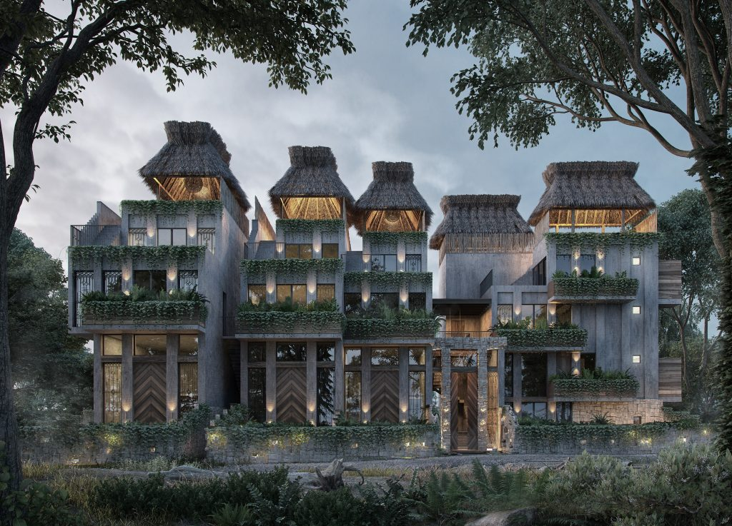 Architecture trends Templa facade
