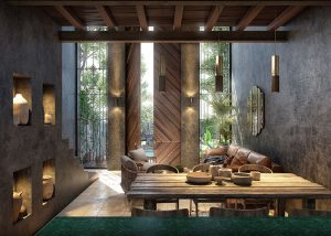 Templia Living Room Tulum retreat