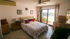 Master Bedroom in Penthouse in Puerto Aventuras