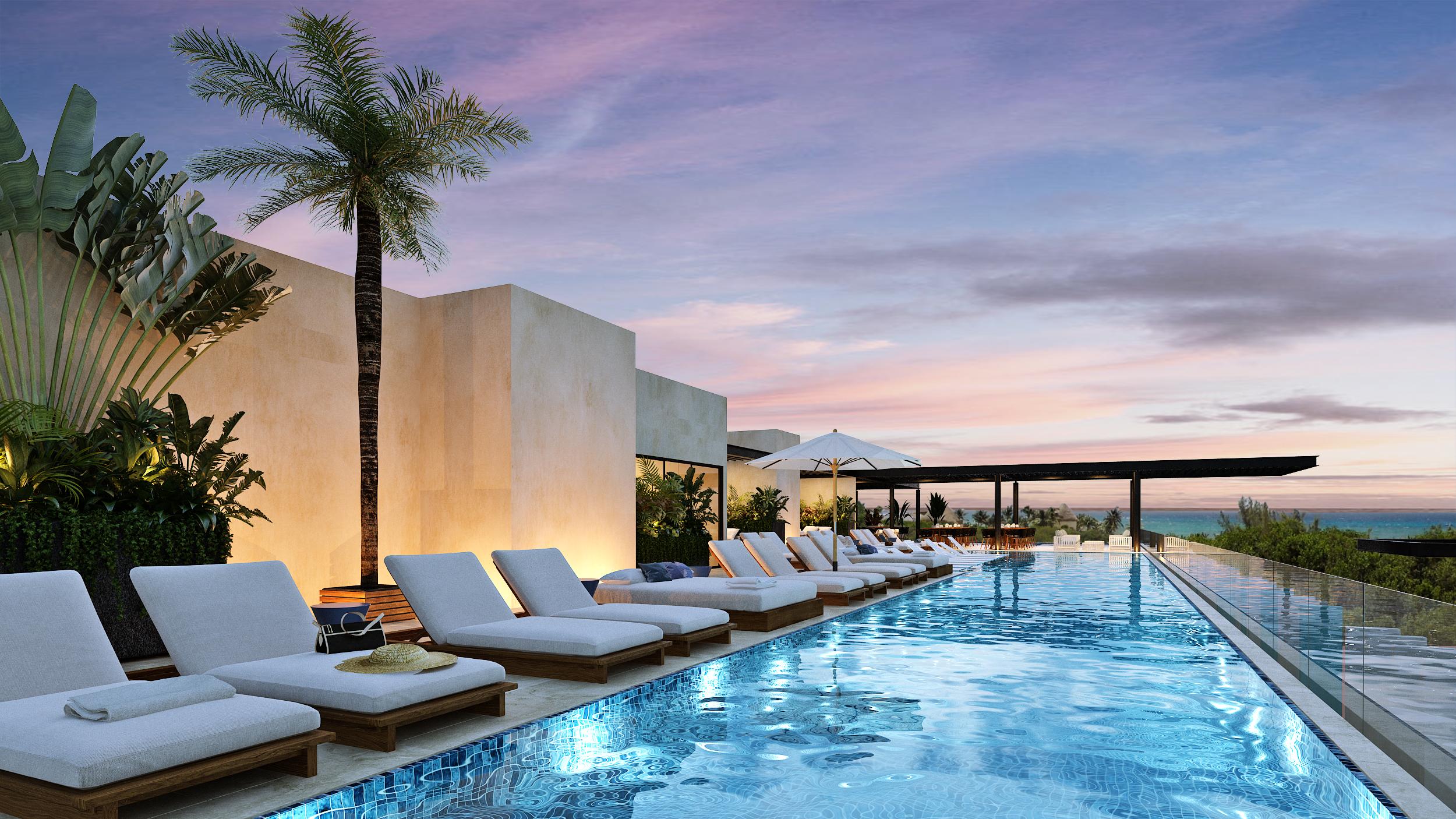 Playa del Carmen rooftops mls 21165