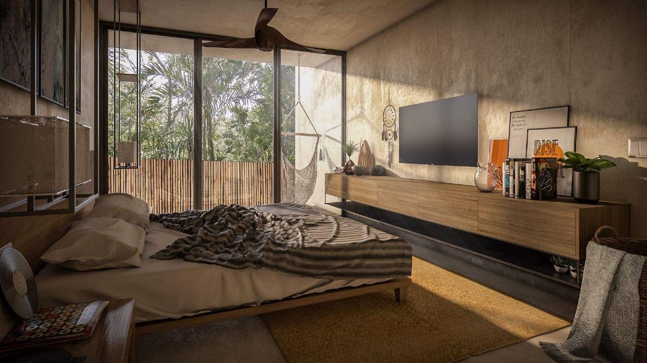 Invest in Mexico now_Cozy studio for sale in Aldea Zama