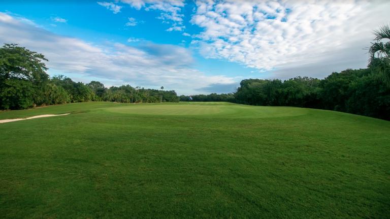 Golf Course inside Corasol Playa del Carmen Gated Community