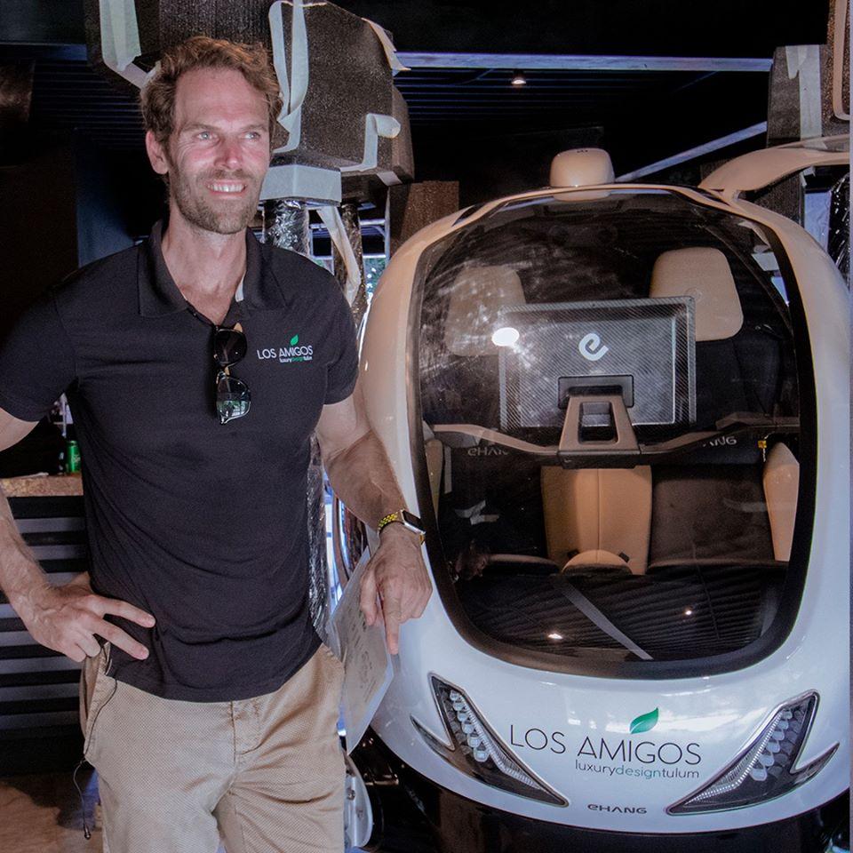Tulum amenities: Los Amigos First Passenger Drone
