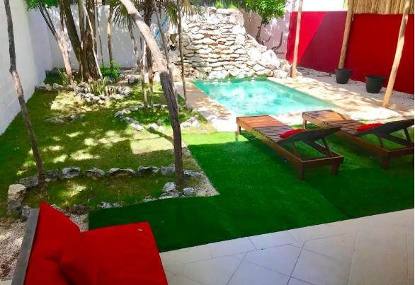 Stunning home for sale in Tulum La Veleta with swimming pool