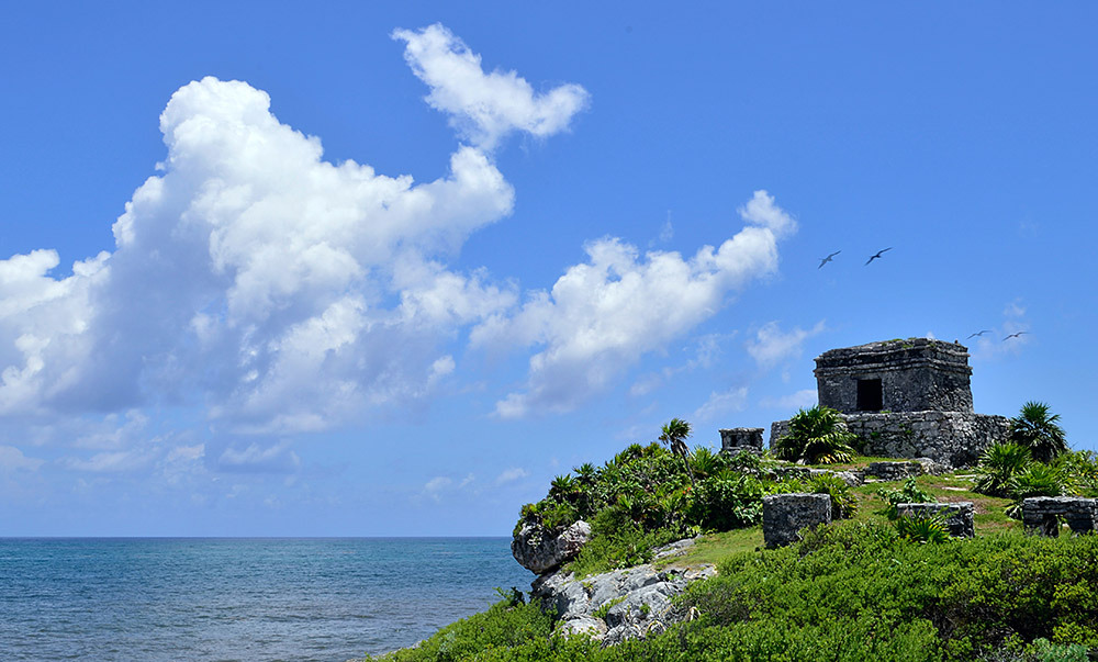 Tulum has some of the most beautiful beaches in the Riviera Maya