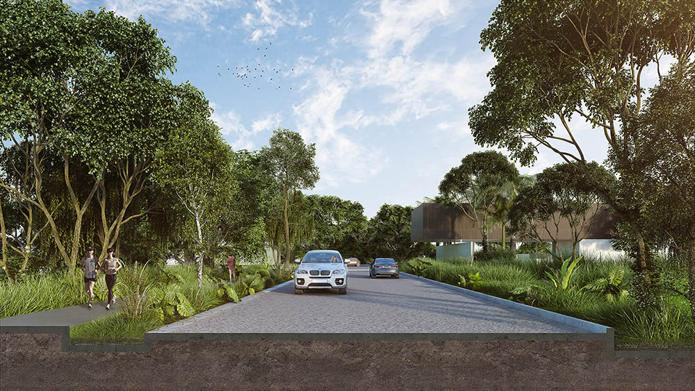 Xpu Ha Beach is a new community that offers lots for sale at a very affordable price