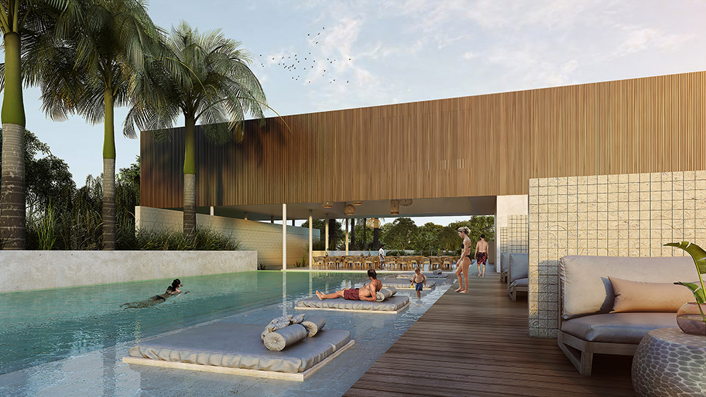 Xpu Ha Beach is a brand new community located on the Riviera Maya coast that offers lots for sale