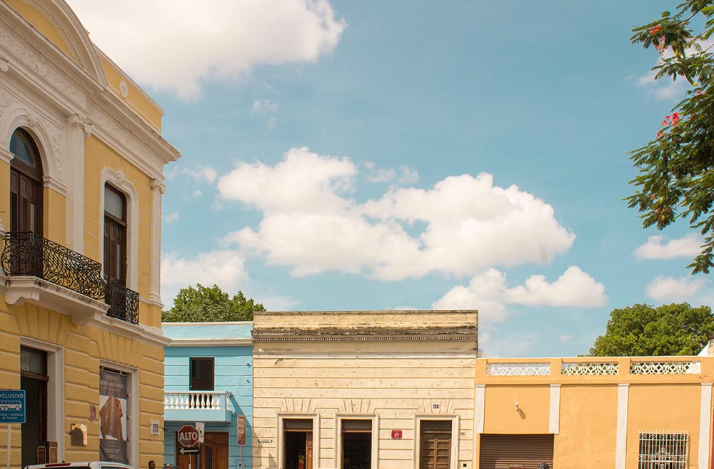 Merida is a city located in the Yucatan Peninsula
