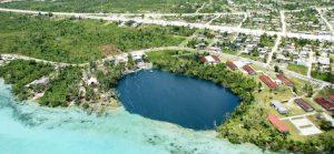 Cenote Azul in Bacalar