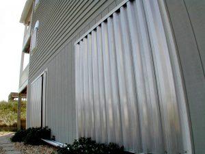 Hurricane shutters