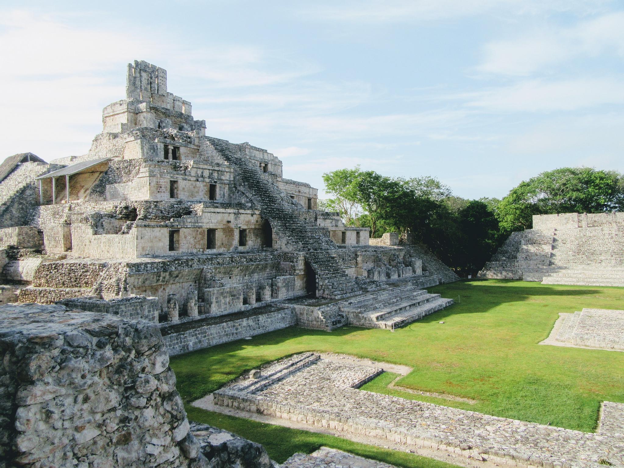 Ednza Ruins in Campeche